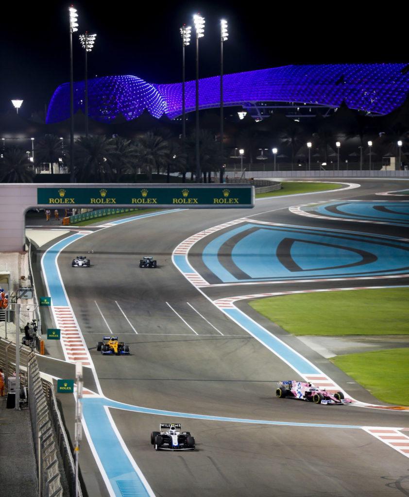 Yas Marina 2021 Formula 1 Season