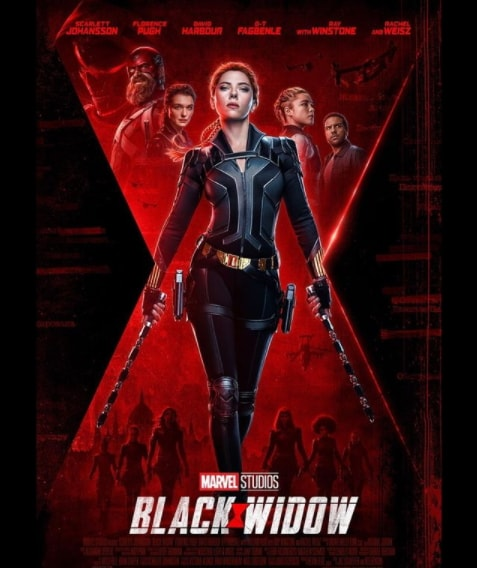 2021 blockbuster movies black widow
