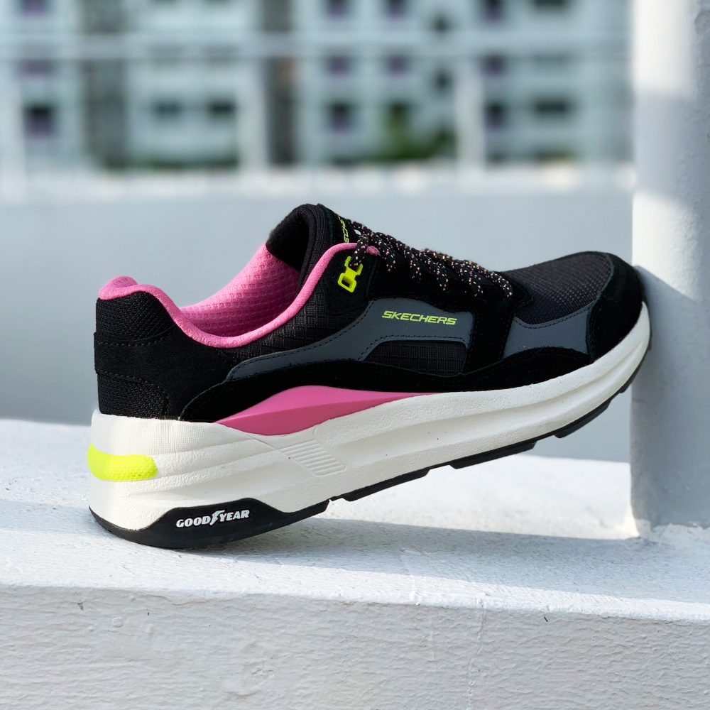 cool brand collaborations skechers goodyear