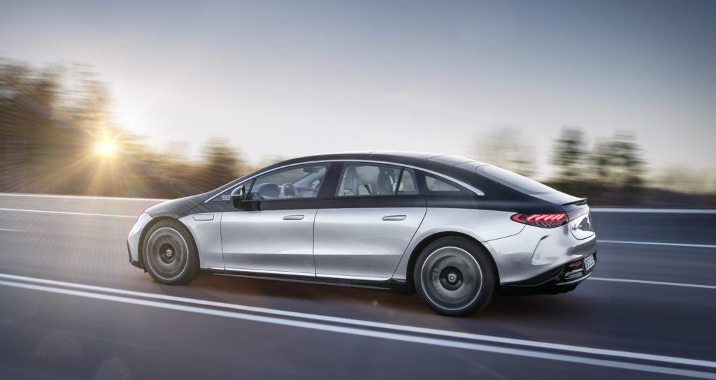 Mercedes-EQS design