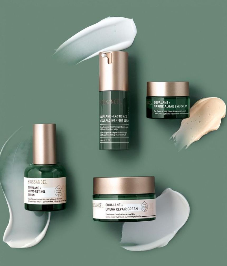 sustainable skincare biossance