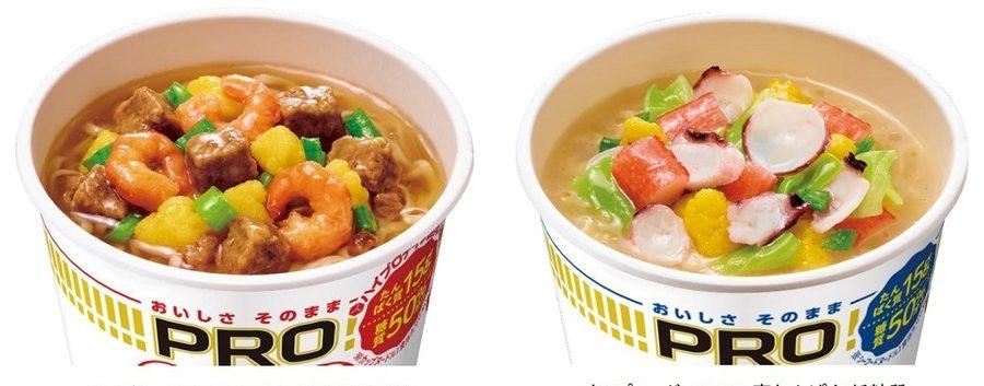 nissin protein noodles flavour