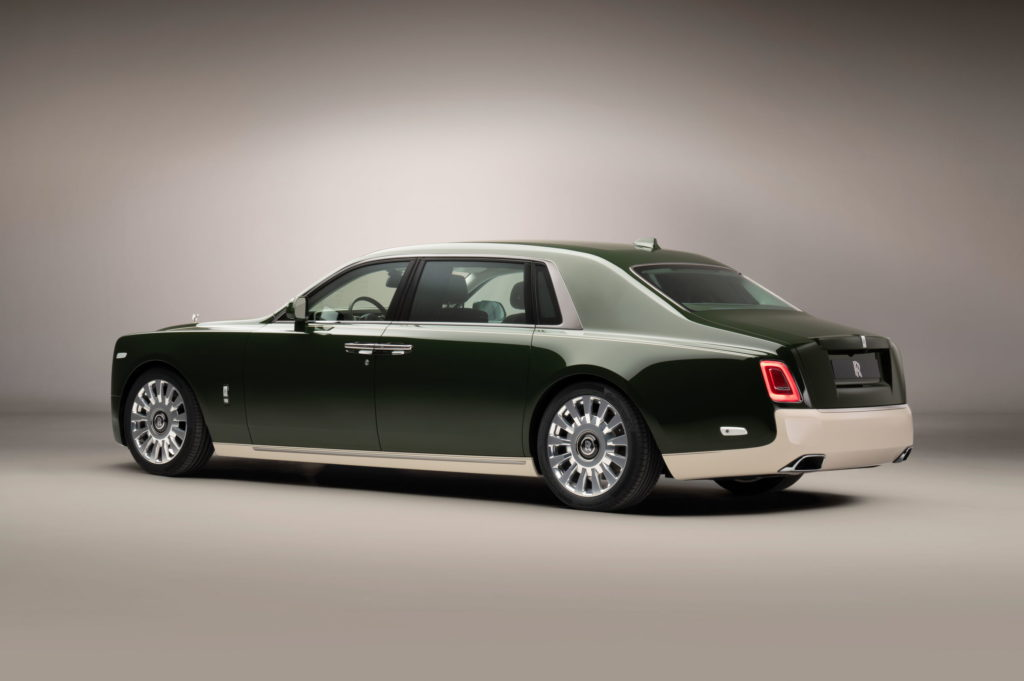 Rolls-Royce And Hermès Phantom Oribe
