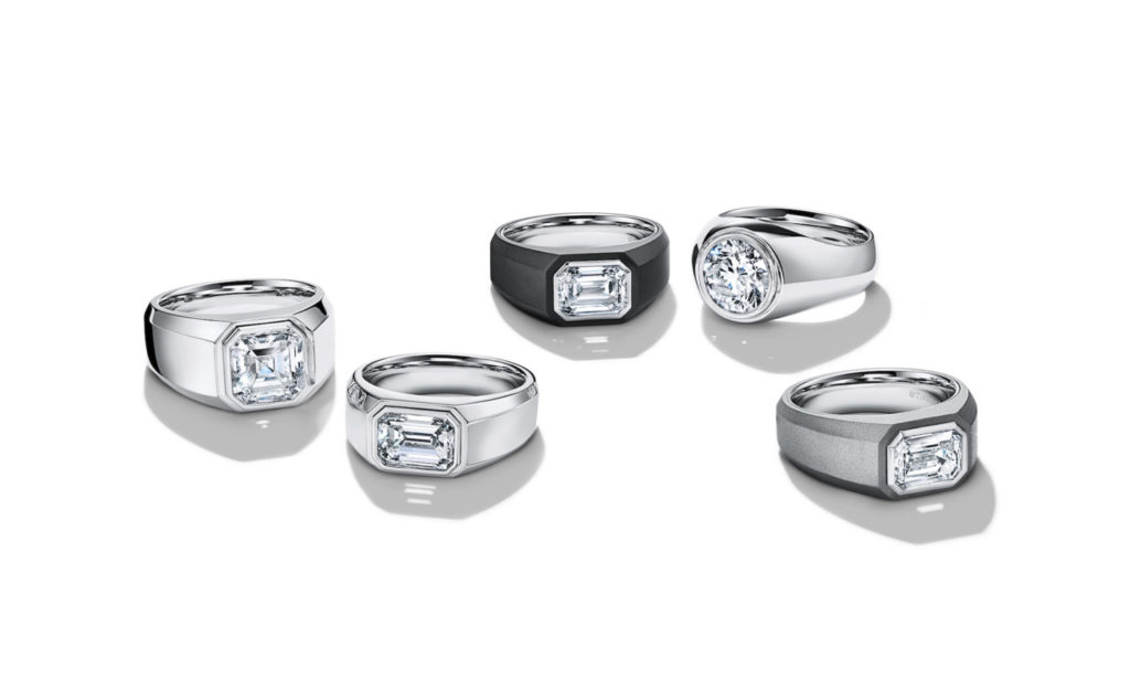 tiffany men's engagement ring