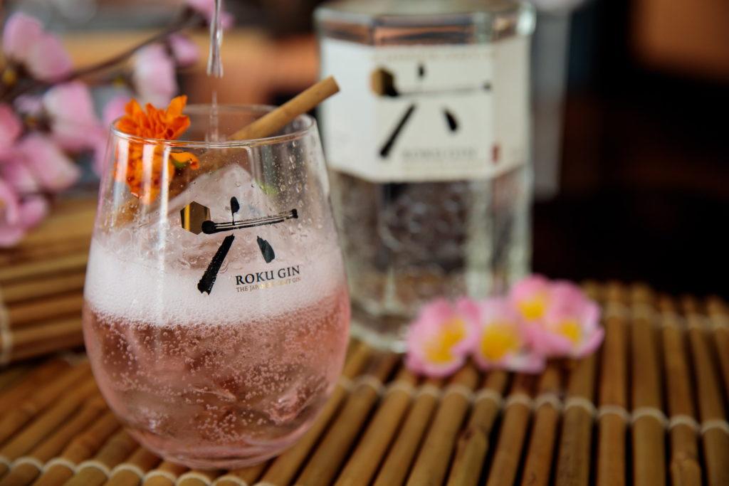 DIY roku gin cocktails