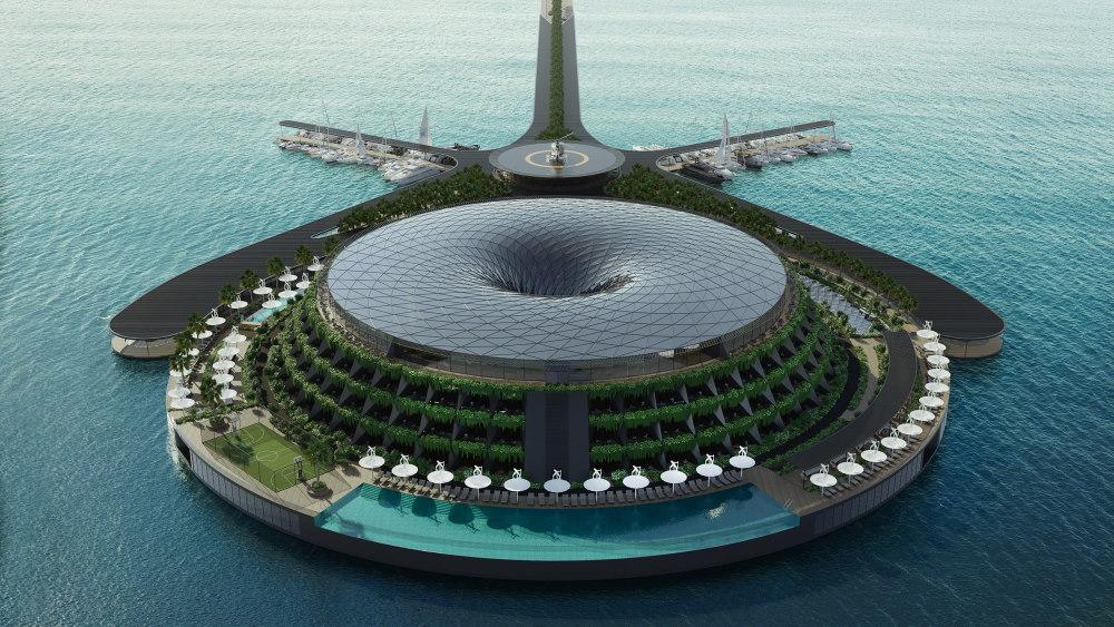 HAADS floating eco-hotel