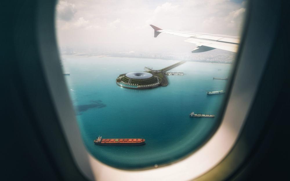 floating eco-hotel qatar