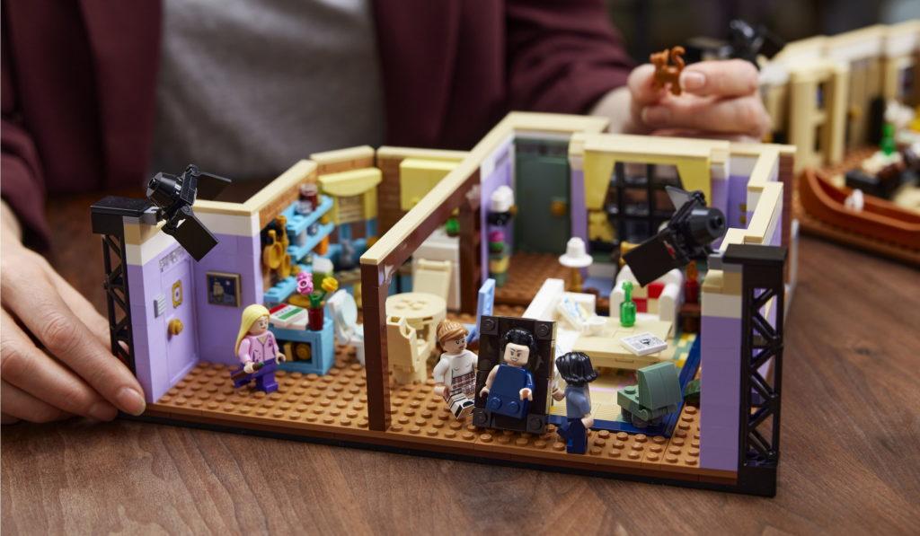 Lego Friends Apartments Set Build