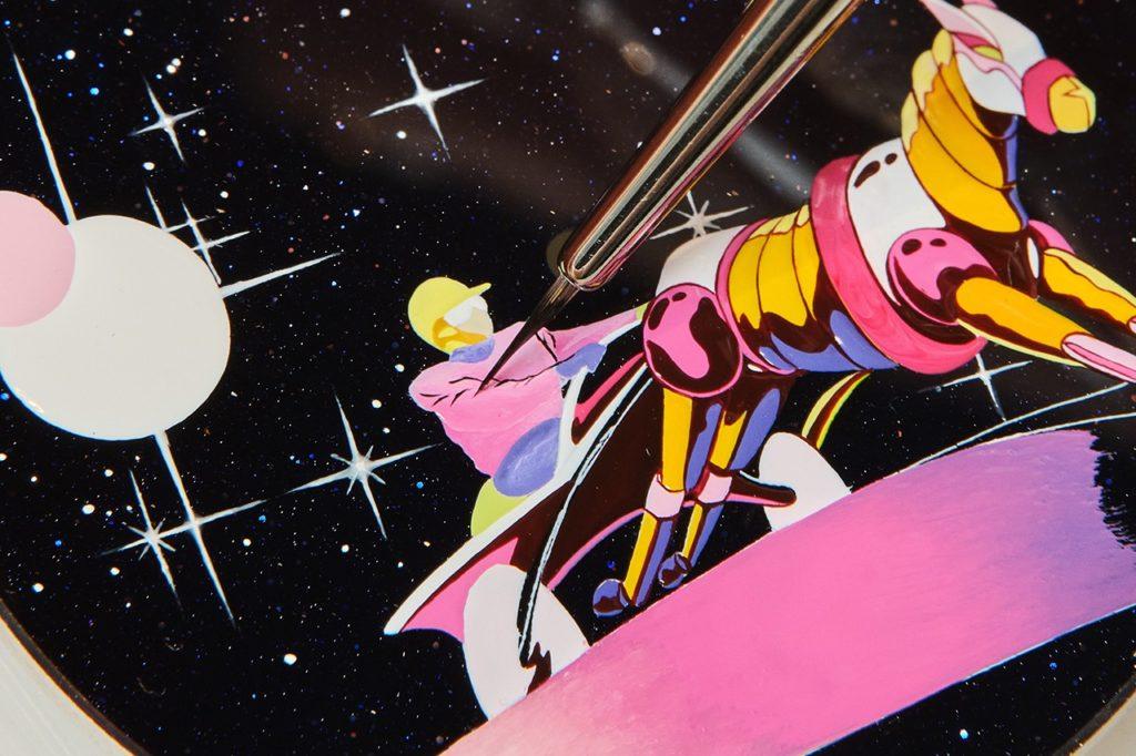 Hermès Arceau Space Derby Dial