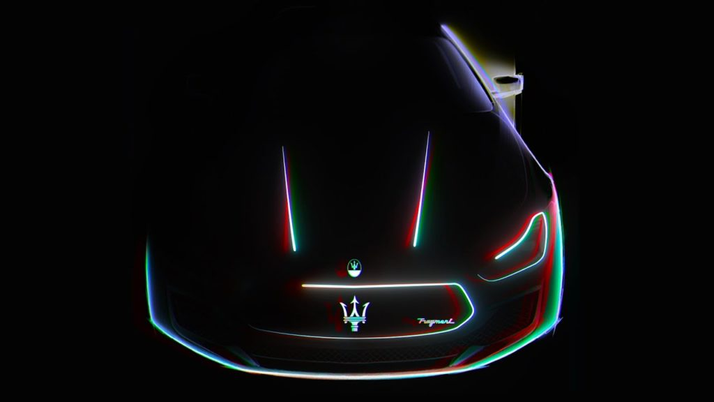 Fragment Design x Maserati design
