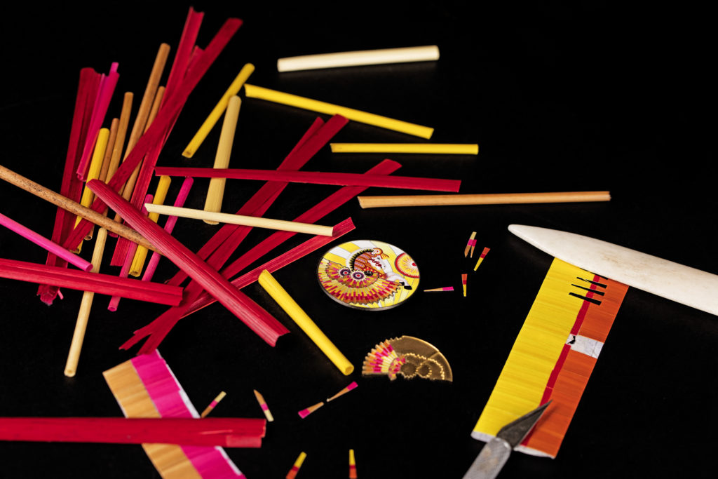Art of straw marquetry