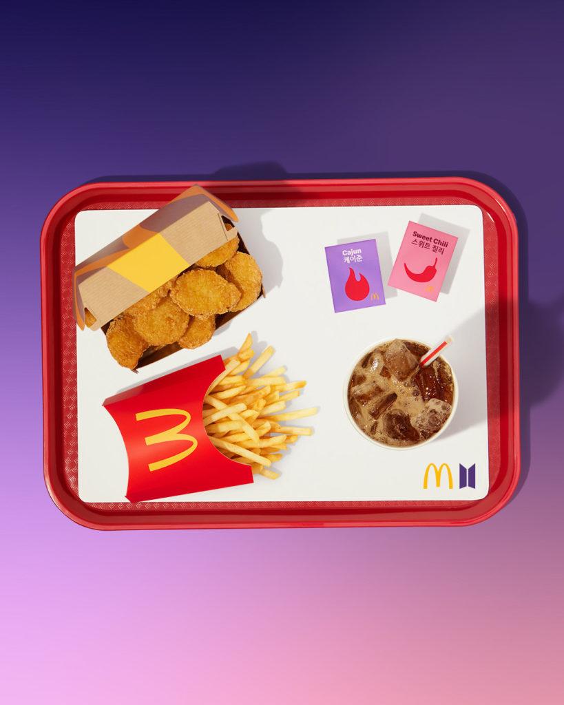 McDonald's x BTS Meal