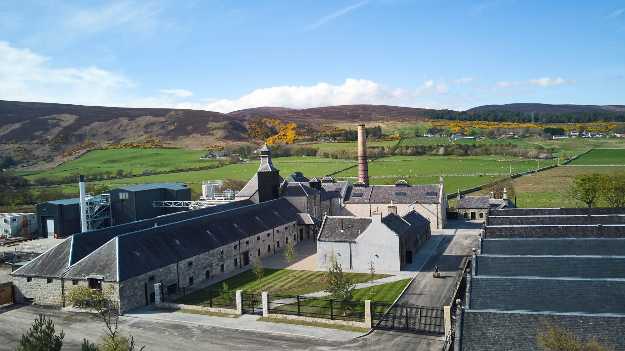 Scotch at Brora distillery
