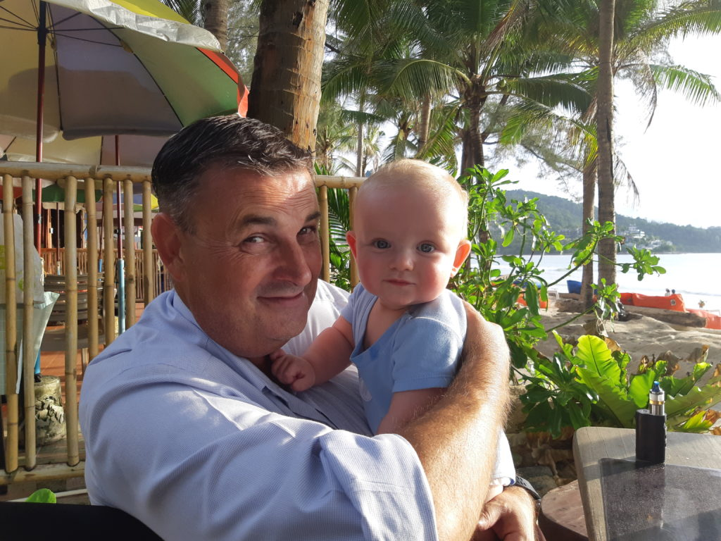 michael grimmer and son