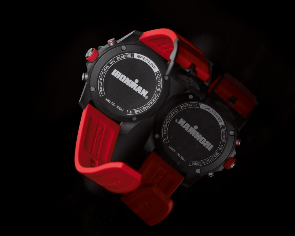 Breitling And Ironman caseback