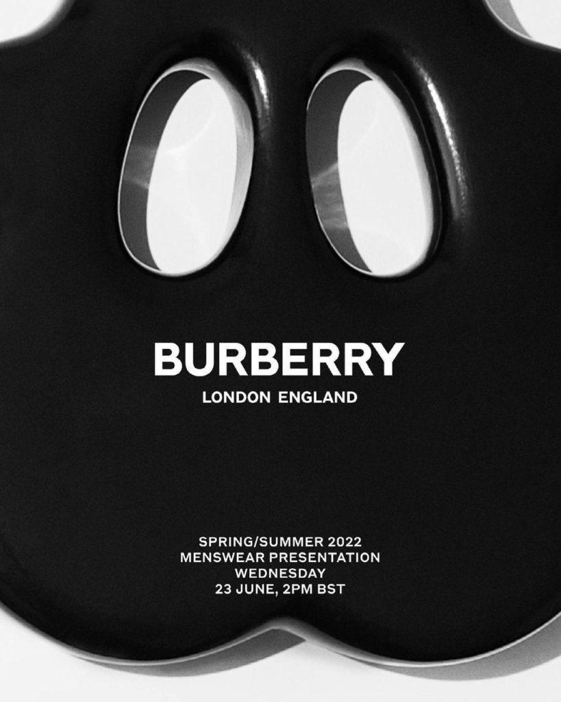 Watch it Live: Burberry Spring/Summer 2022 Menswear Presentation