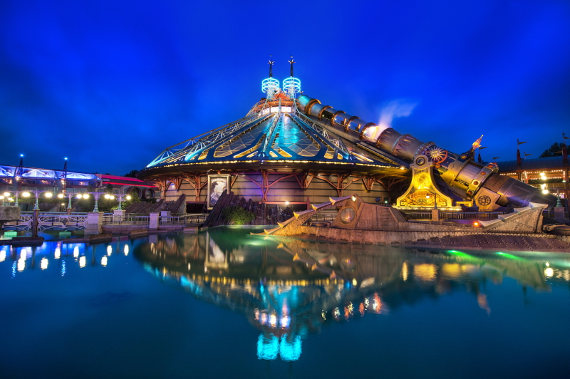Behind The Attraction Space Mountain
