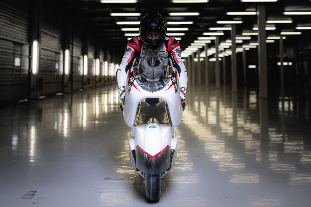 electric motorcycle speed record