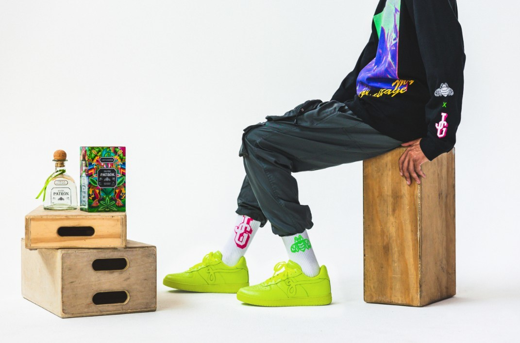 Patrón Tequila Collaborates With John Geiger And SENKOE For Streetwear Collection