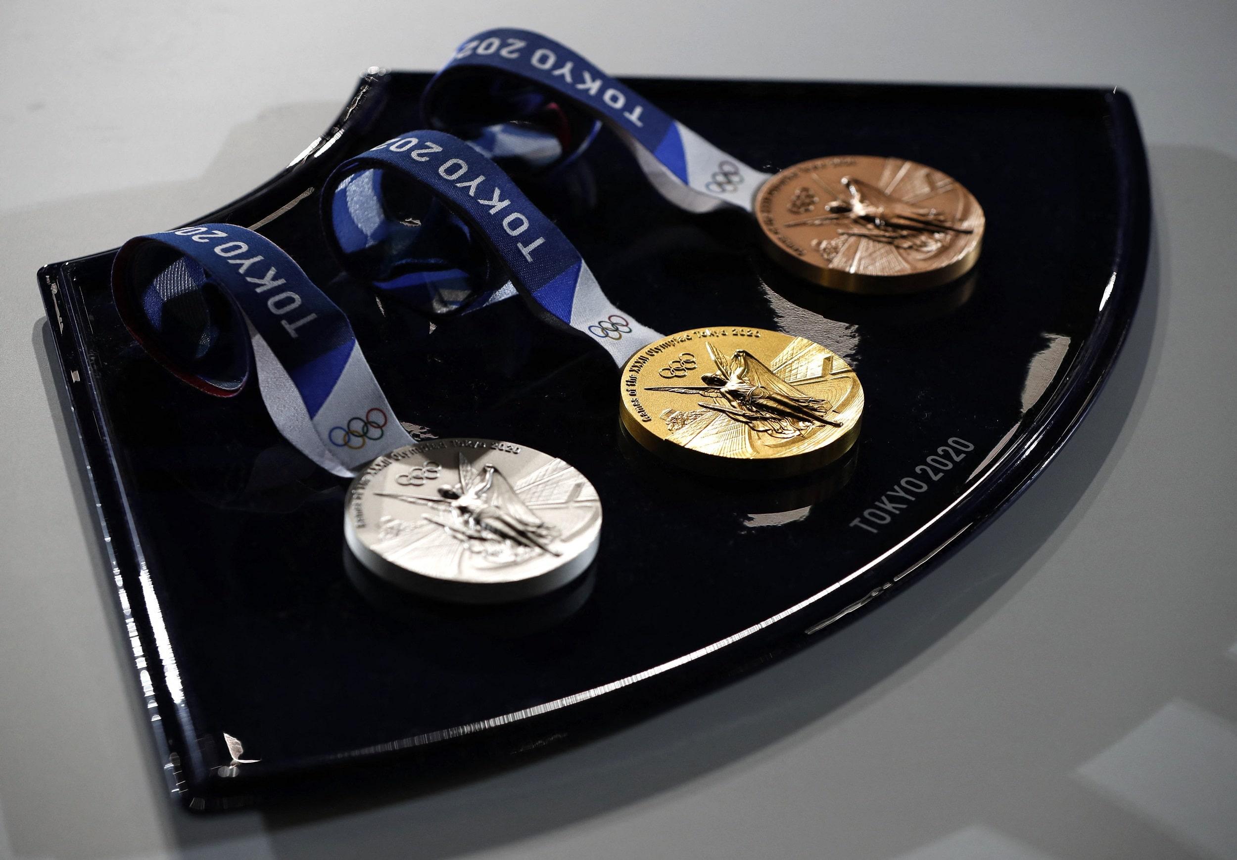 2020 Tokyo Olympics Medals