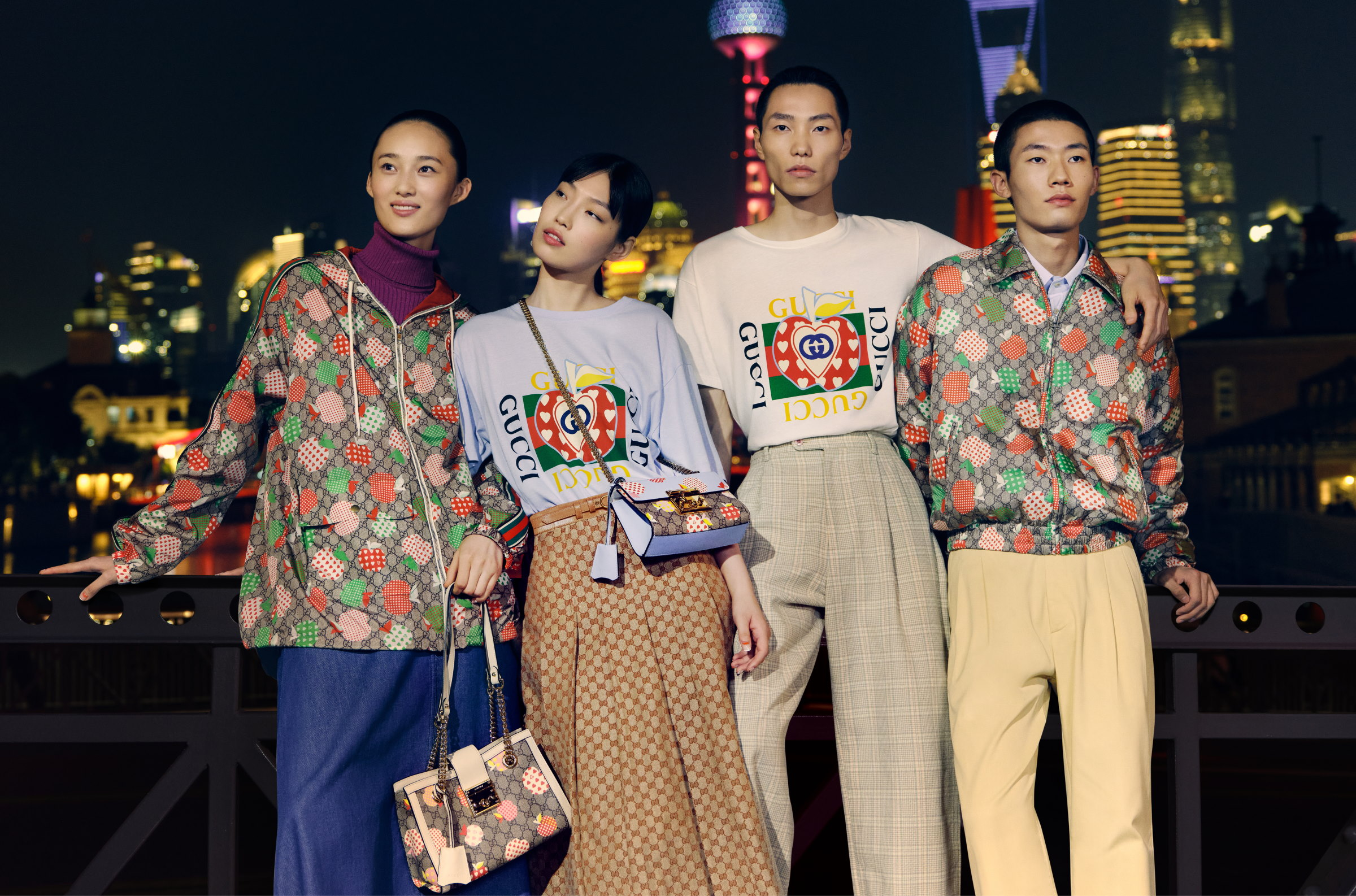 Celebrate Chinese Valentine's Day With Gucci Les Pommes