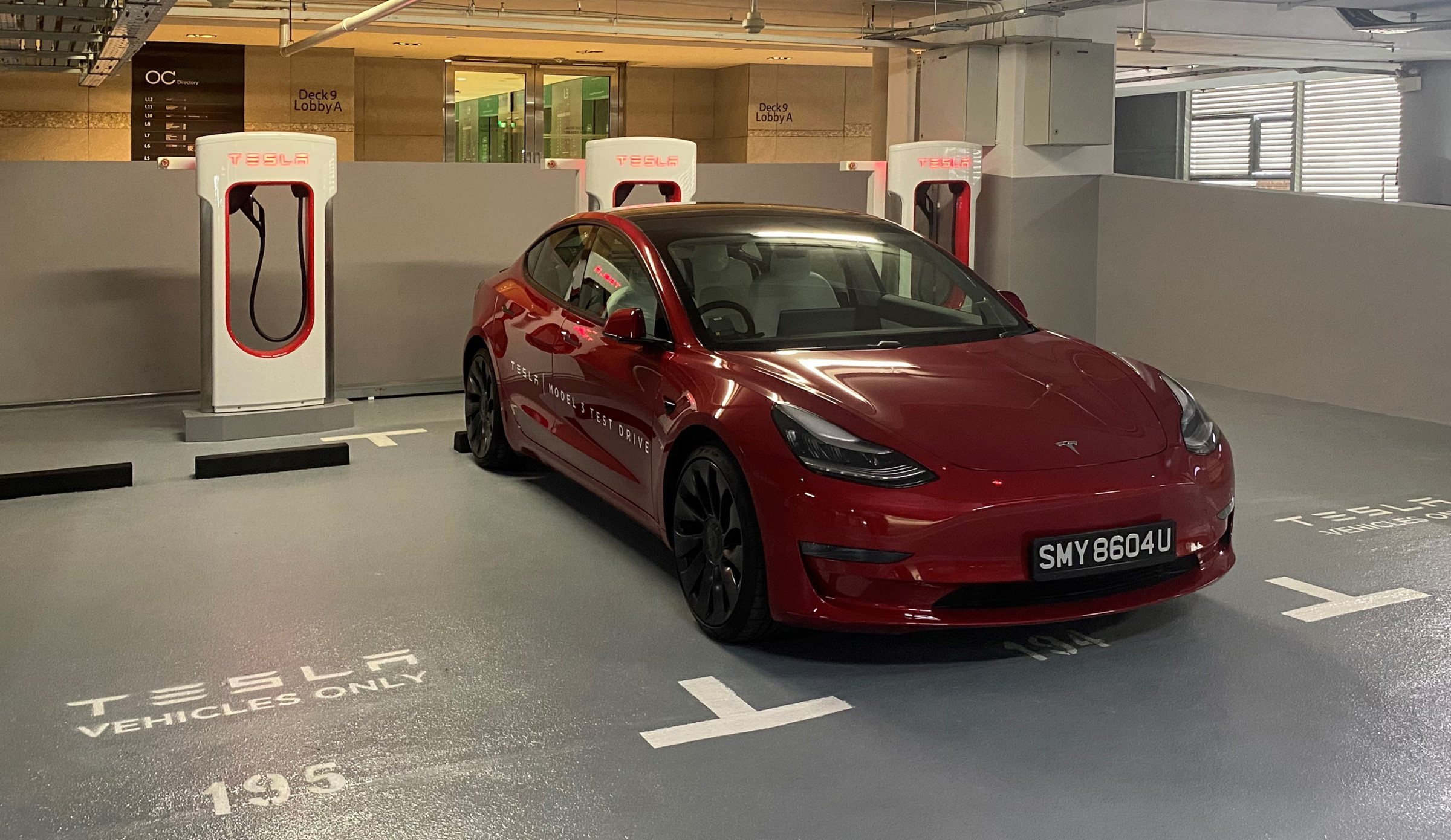 Orchard Central Opens First Tesla V3 Supercharger Station In Southeast Asia