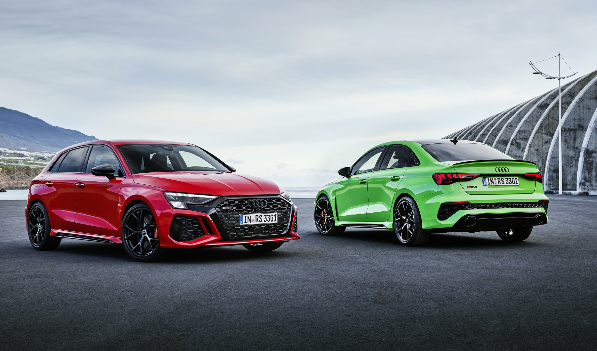 The Audi RS 3 Blends Performance Driving With Everyday Usability