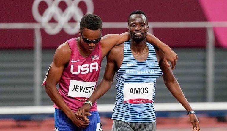 Isaiah Jewett and Nijel Amos