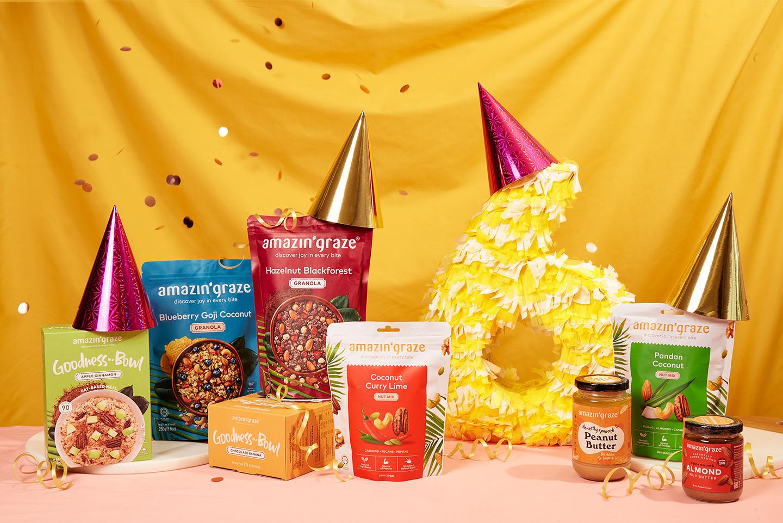 Amazin' Graze Celebrates Turning 6 With Month-Long Promotions