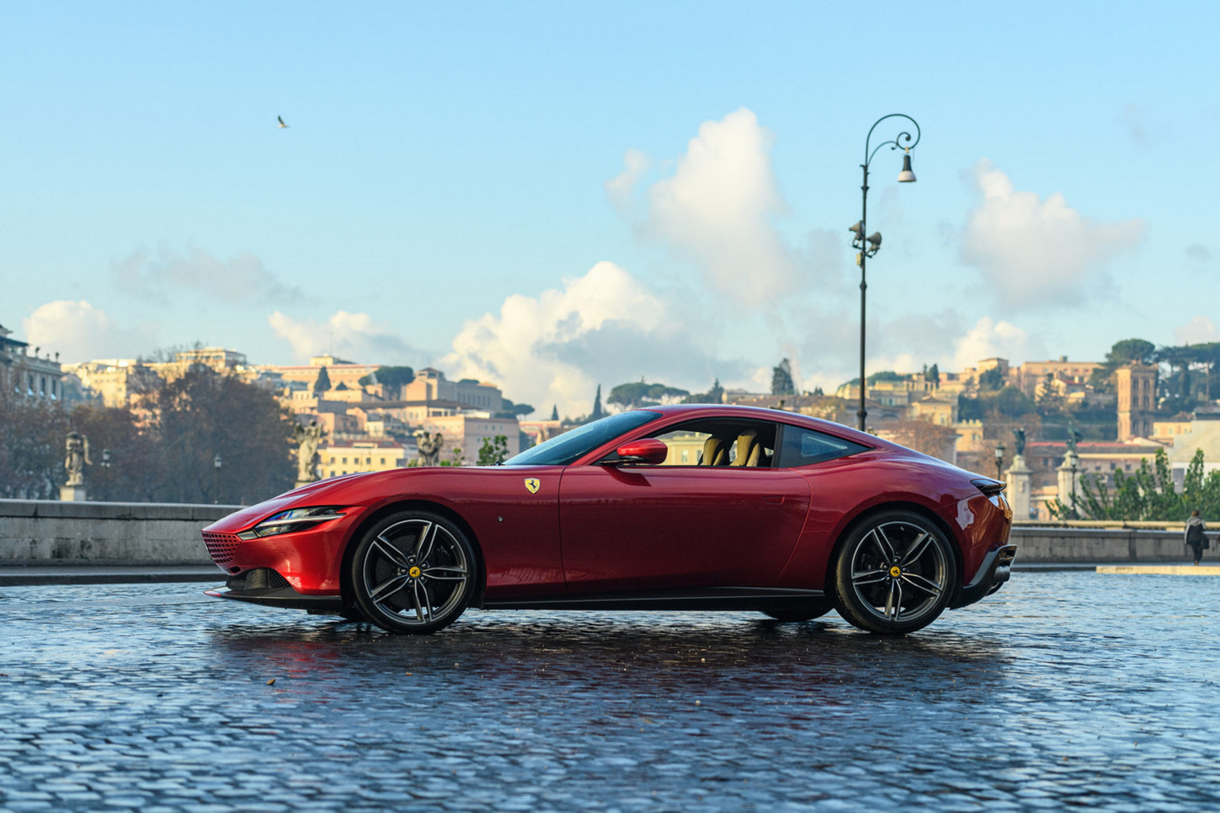 When In Roma: Ferrari's New Compact GT Embodies Understated Luxury