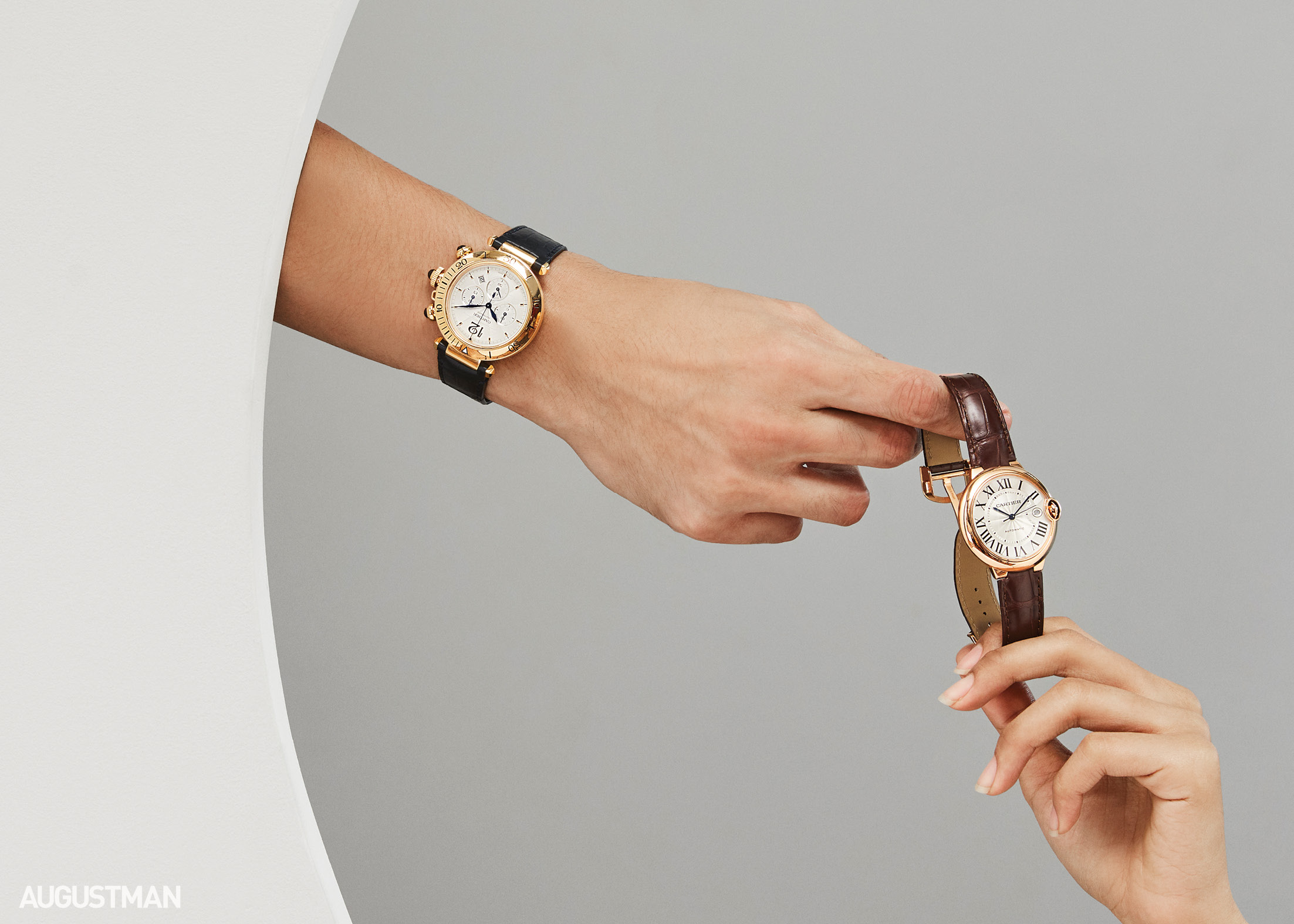 Cartier Gives Us A Touch Of Elegance With Its Luxury Timepieces