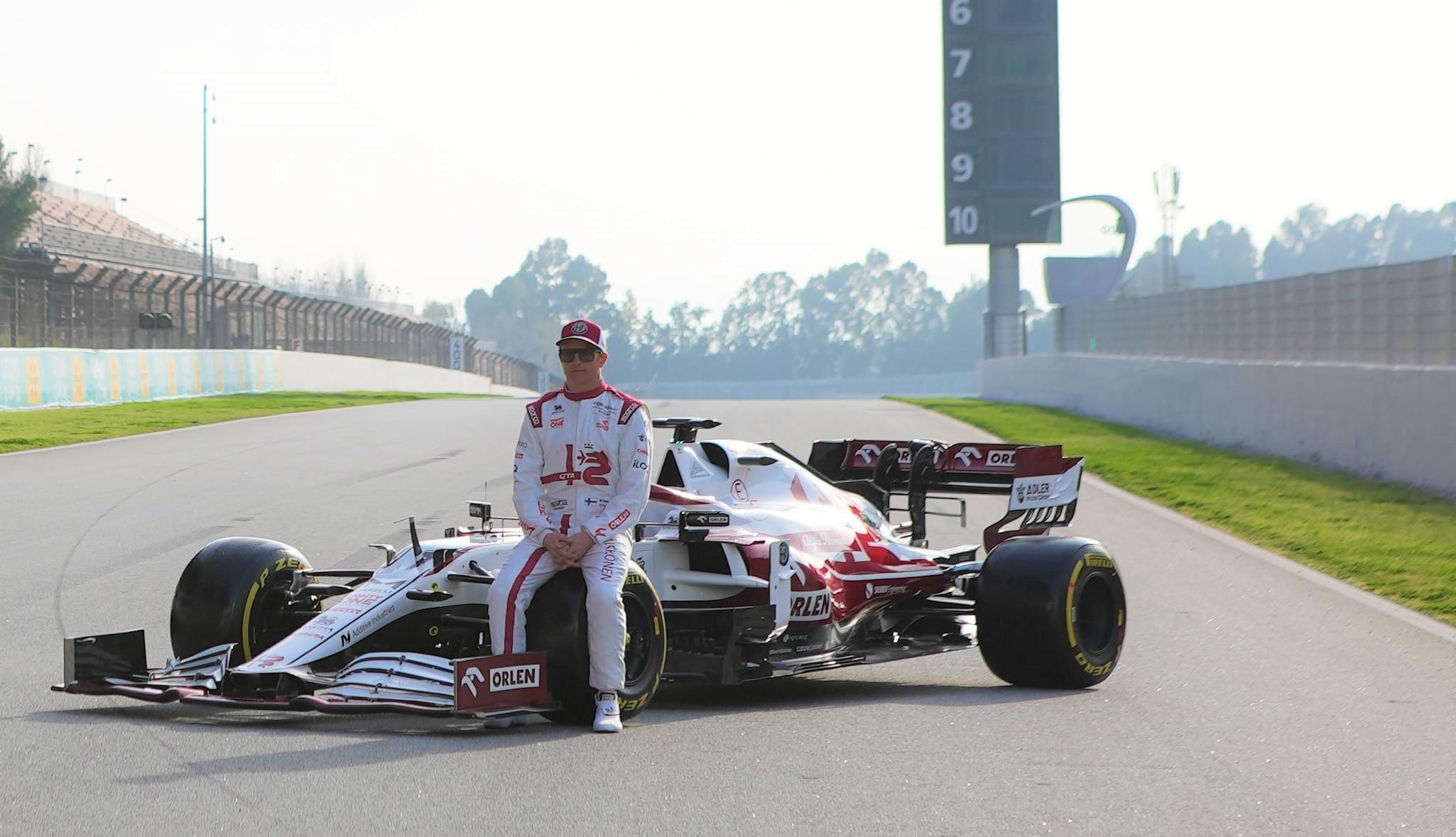 Kimi Räikkönen Alfa